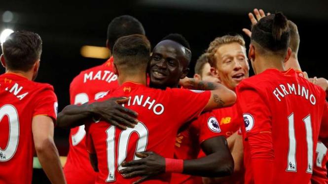 Para pemain Liverpool l