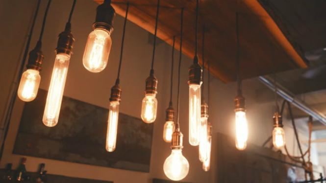 Ilustrasi lampu