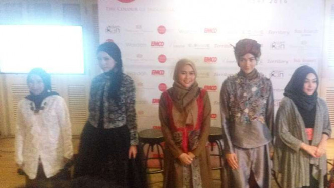 Konferensi pers Indonesia Cultural Fashion 2016