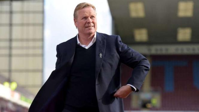 Manajer Everton, Ronald Koeman