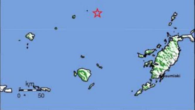 Gempa bumi guncang Kepulauan Maluku