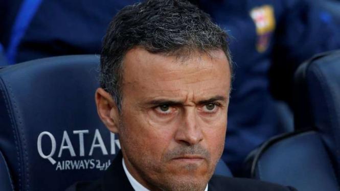 Eks pelatih Barcelona, Luis Enrique.