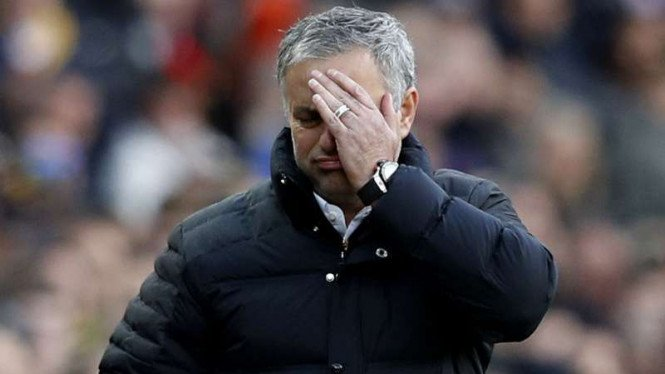 Manajer Manchester United, Jose Mourinho.
