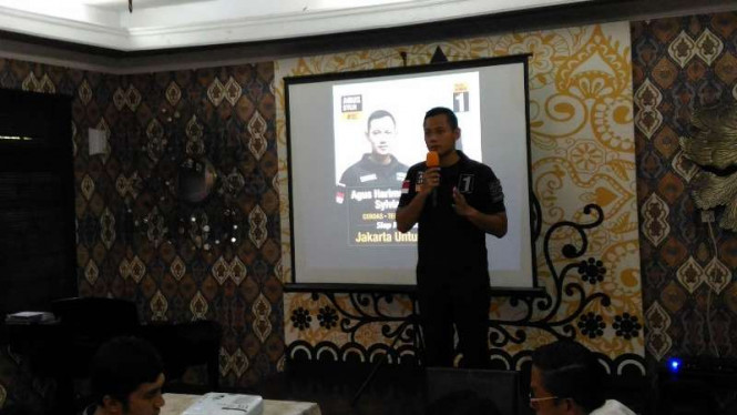 Calon gubernur DKI Agus Harimurti Yudhoyono