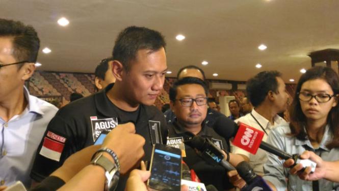 Calon Gubernur DKI Jakarta, Agus Harimurti Yudhoyono.