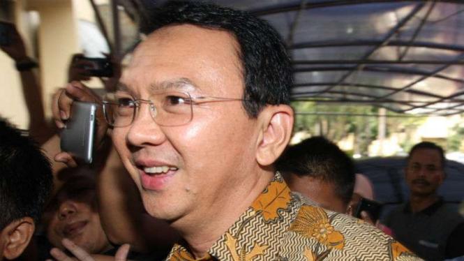 Gubernur DKI Jakarta nonaktif Basuki Tjahaja Purnama.