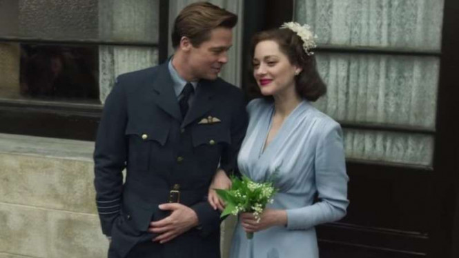 Salah satu adegan di film Allied.