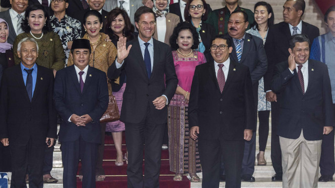 Kunjungan PM Kerajaan Belanda Mark Rutte ke Indonesia