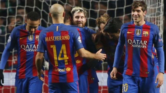 Pemain Barcelona.