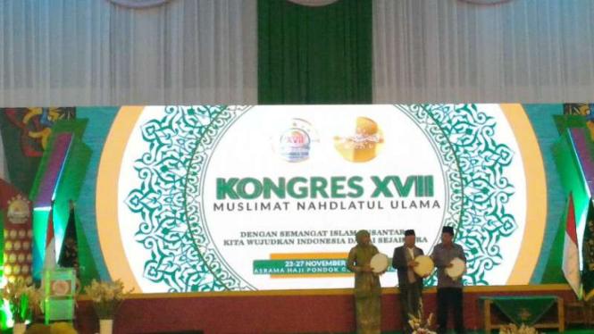 Wakil Presiden Jusuf Kalla menutup Kongres XVII Muslimat NU