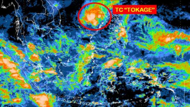 Siklon Tropis Tokage