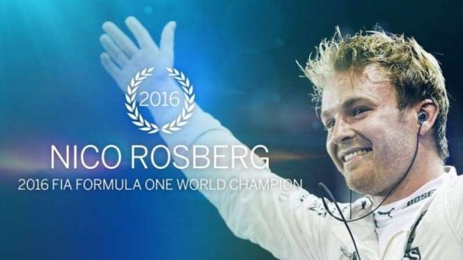 Nico Rosberg, juara dunia F1 2016