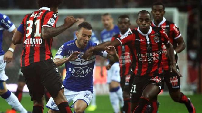 Pertandingan OGC Nice melawan SC Bastia di ajang Ligue 1