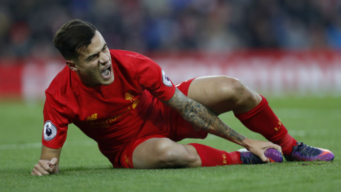 Playmaker Liverpool, Philippe Coutinho.