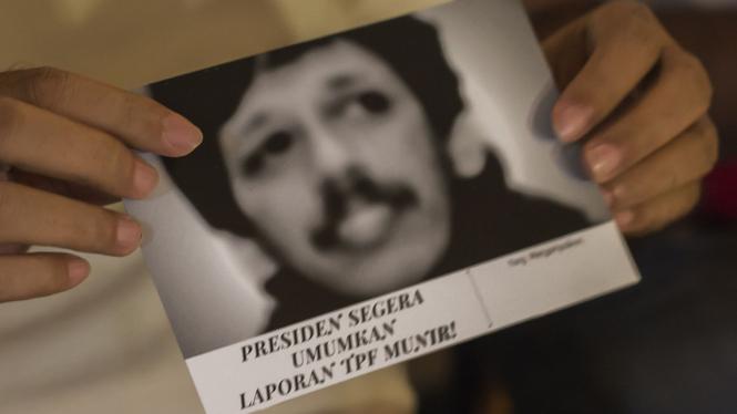 Kasus Munir, salah satu catatan buruk HAM yang tak kunjung tuntas di Indonesia.