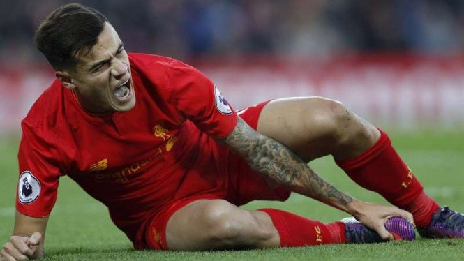 Gelandang Liverpool, Philippe Coutinho