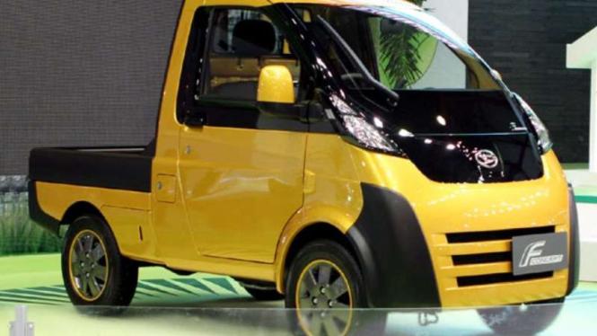 Mobil pedesaan yang pernah dipamerkan di IIMS 2010 lalu. Ilustrasi.
