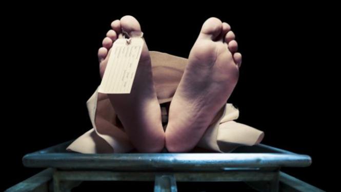 Ilustrasi orang mati.