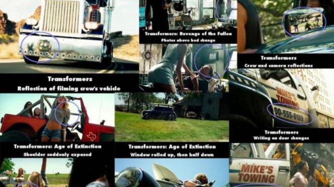 Kesalahan Film Transformer Yang Mungkin Kamu Belum Sadari