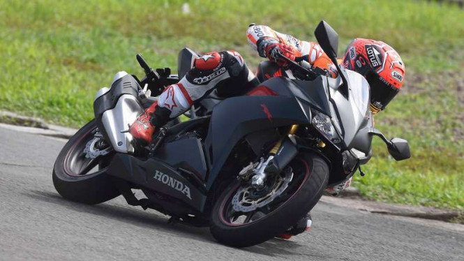 All New Honda CBR250RR.