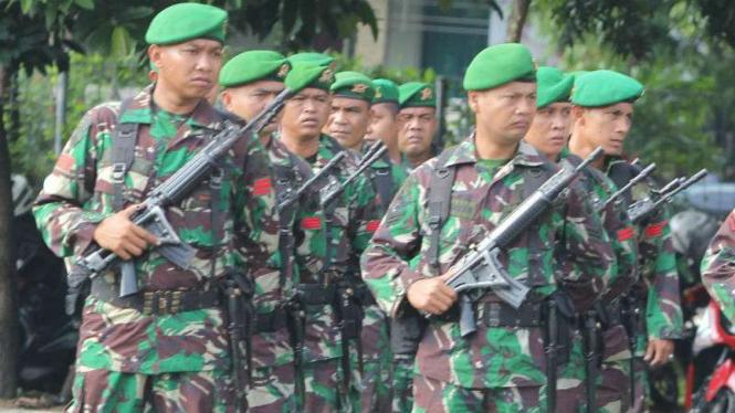 Ilustrasi/Prajurit TNI.