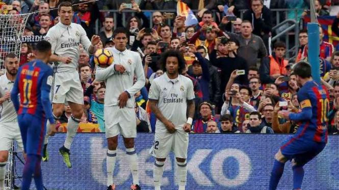 Duel Real Madrid vs Barcelona