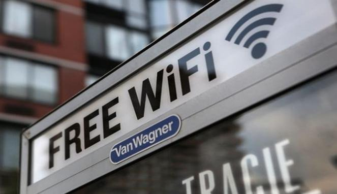 Ilustrasi Wifi gratis.