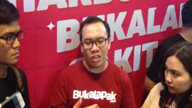 Co-Founder dan Chief Financial Officer Bukalapak, Fajrin Rasyid
