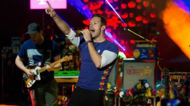 Konser Coldplay.