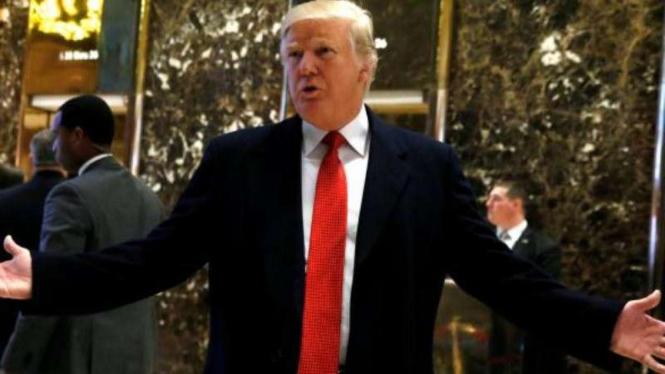 Presiden terpilih AS, Donald Trump