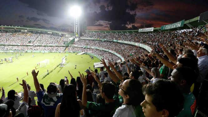 Fans Adakan Acara Kenang Klub Bola Chapecoense