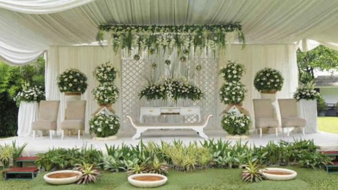 10 Dekorasi Pernikahan Sederhana Tapi Tampak Mewah Viva