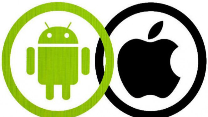 Android vs iPhone.