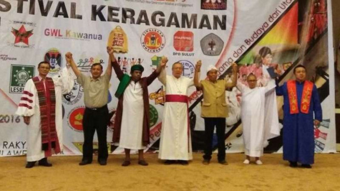 Festival Keragaman digelar di Sulut, Sabtu (10/12).