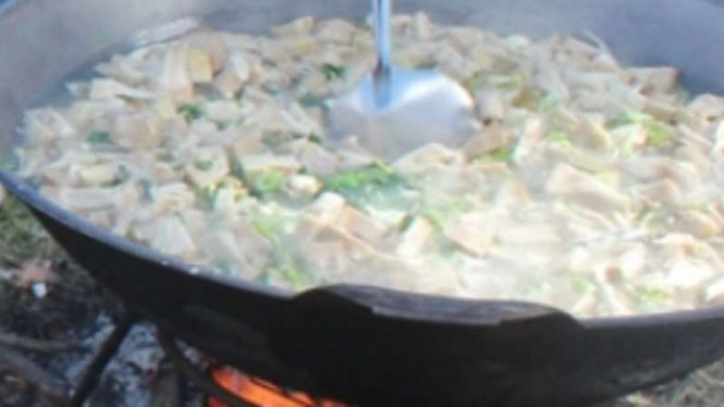 Kuah Pliek masakan khas Aceh