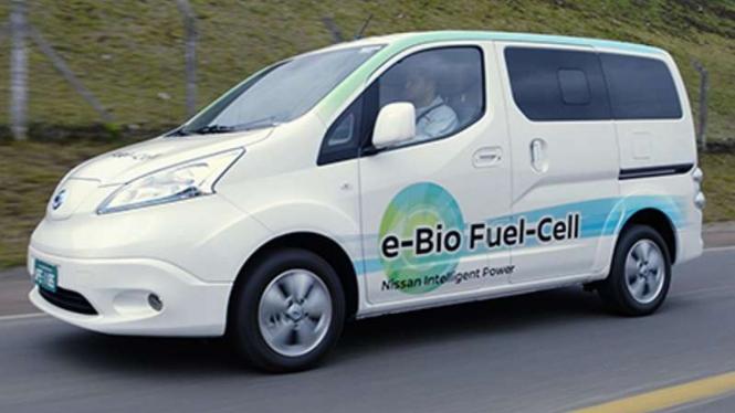 Nissan e-NV200 bahan bakar etanol