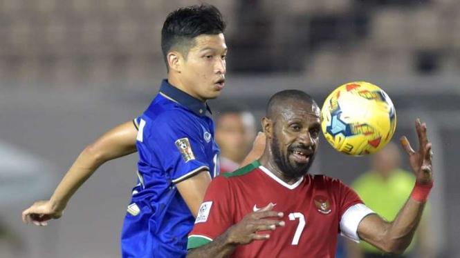 Pertandingan Timnas Indonesia kontra Thailand di Piala AFF 2016