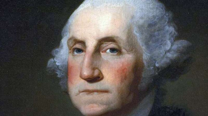 Presiden AS George Washington.