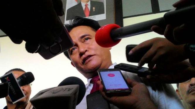 Ketua Umum DPP Partai Bulan Bintang Yusril Ihza Mahendra.