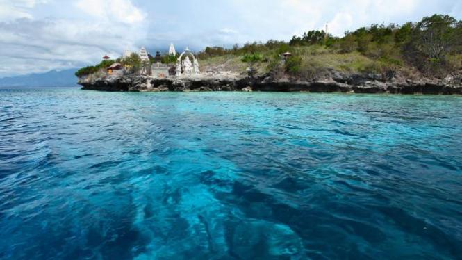 Pulau Menjangan Bali.