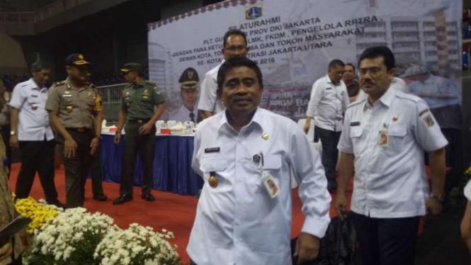 Pelaksana Tugas (Plt) Gubernur DKI Jakarta, Sumarsono.