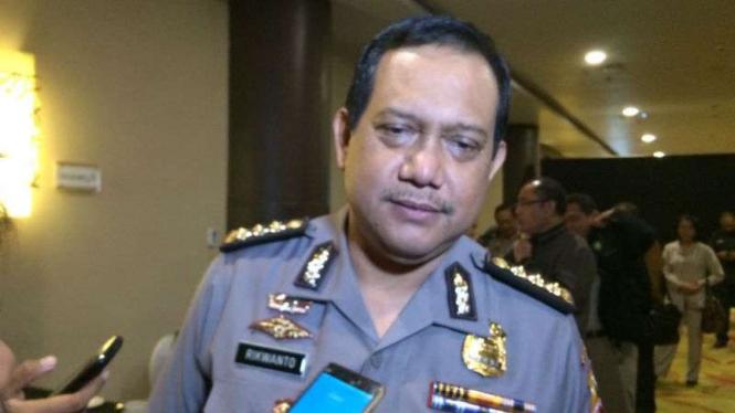 Kepala Biro Penerangan Masyarakat Polri, Brigadir Jenderal Polisi Rikwanto.