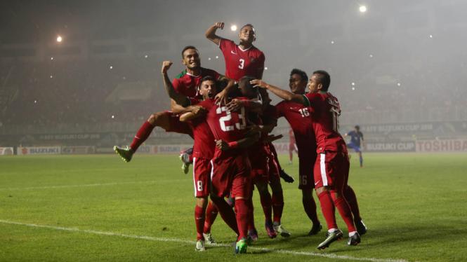 Indonesia Tekuk Thailand 2-1 di Final AFF Leg Pertama