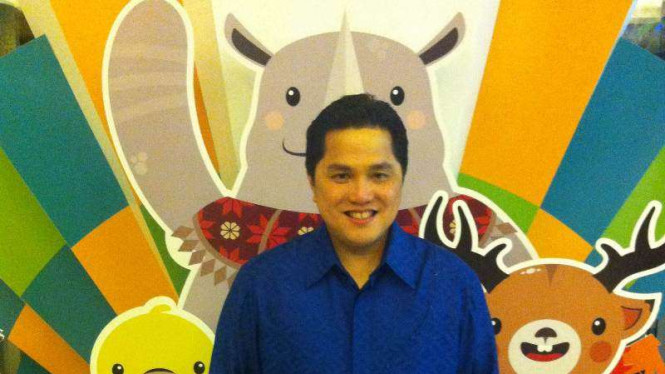 Ketua Komite Olimpiade Indonesia (KOI), Erick Thohir.