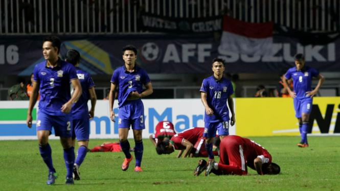 Indonesia Tekuk Thailand 2-1 di Final AFF leg 1.