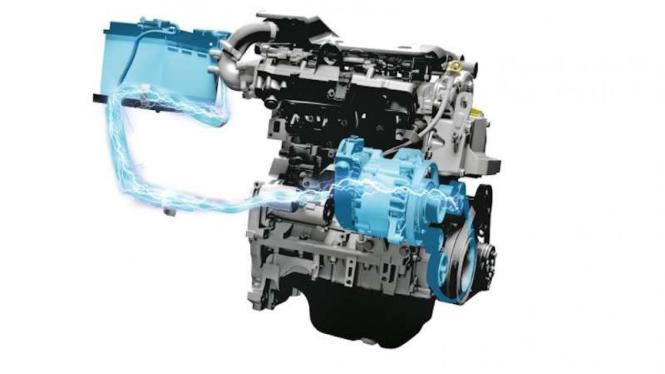Mesin Diesel Hybrid Suzuki Ertiga.