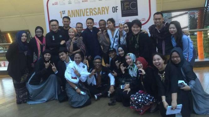 Desainer anggota Indonesia Fashion Chamber (IFC)