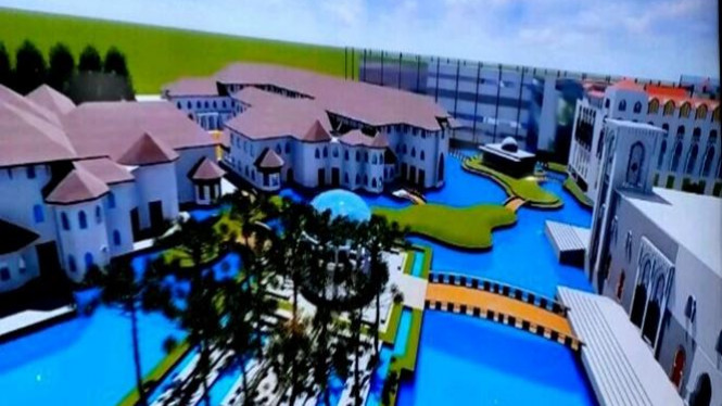 Zona Banda Aceh di Piasan Seni dan Pameran Pembangunan.