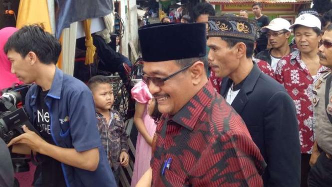 Calon wakil gubernur petahana DKI Jakarta, Djarot Saiful Hidayat.