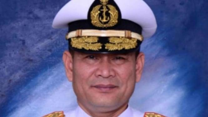 Wakil Kepala Staf TNI Angkatan Laut, Laksamana Madya Arie Henrycus Sembiring Meliala.